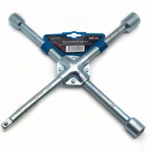 Ключ баллонный крестовой 17 х 19 х 22 х 1/2 Сервис ключ -77777