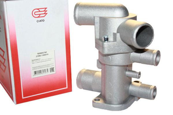 Термостат 21082-2110 инжекторный нового образца Ставрово