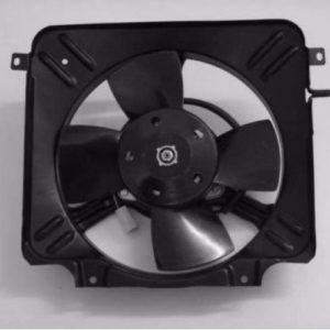 Мотор охлаждения  2108 с диффузором в сборе